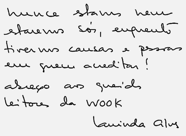 Wook.pt - Mensagem Manuscrita
