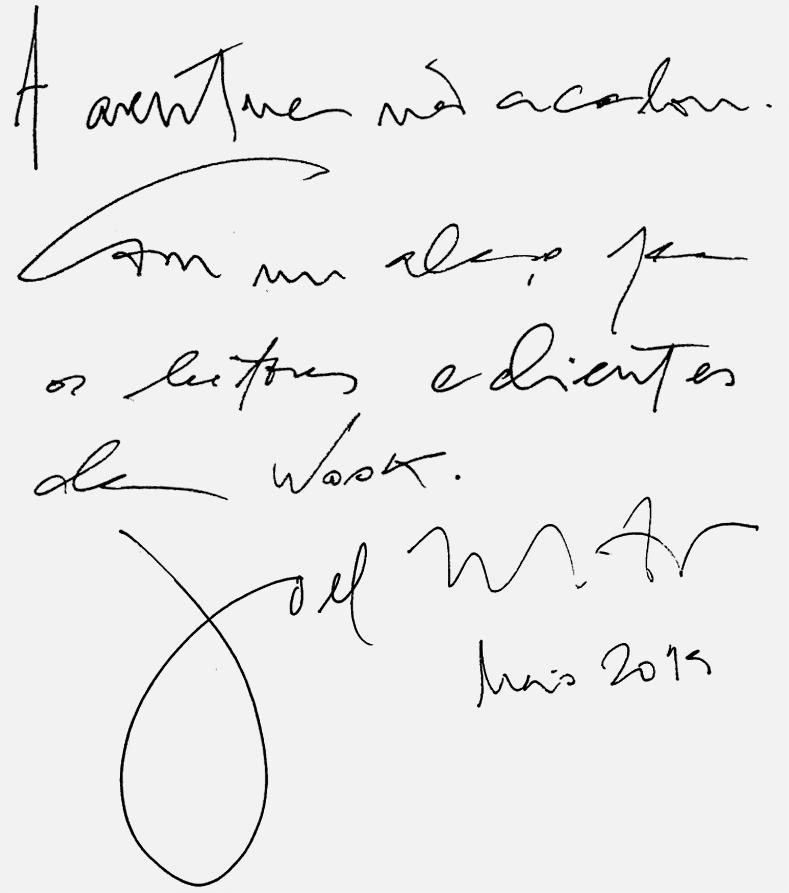 Wook.pt - Mensagem do autor